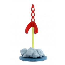 Figurine Tintin - FUSEE AU...